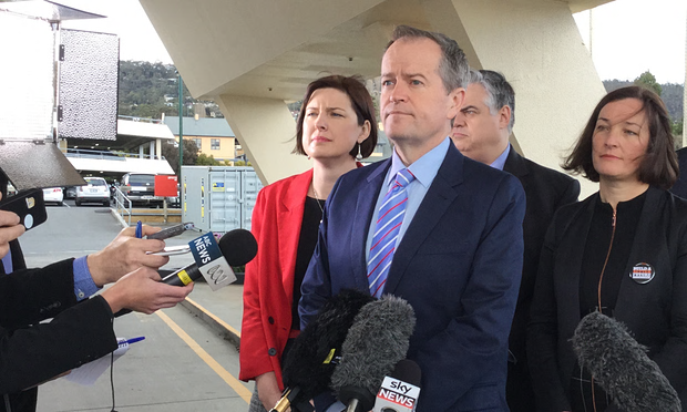 Bill Shorten says government 'crab walking' away from NDIS